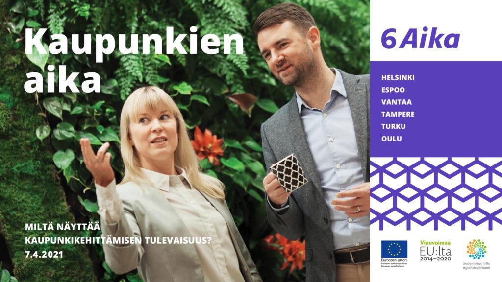 Cover for article '6Aika: Kaupunkien aika -verkkotilaisuus'