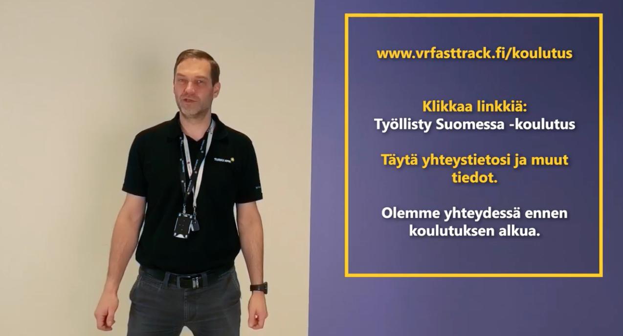 Cover for article 'VR Fast Track – Työllisty Suomessa -koulutus maahanmuuttajille'