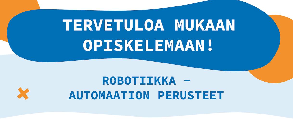 Cover for article 'Roboboost – Robotiikka: Automaation perusteet'