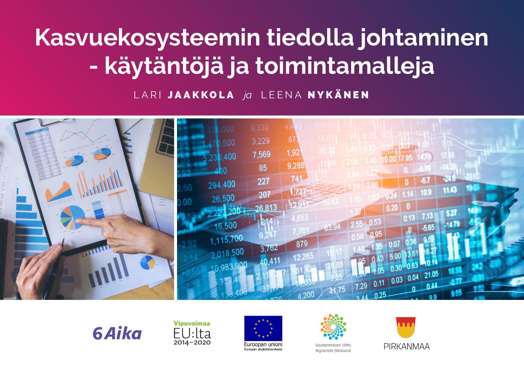 Cover for article 'Kasvuekosysteemin tiedolla johtaminen – käytäntöjä ja toimintamalleja'