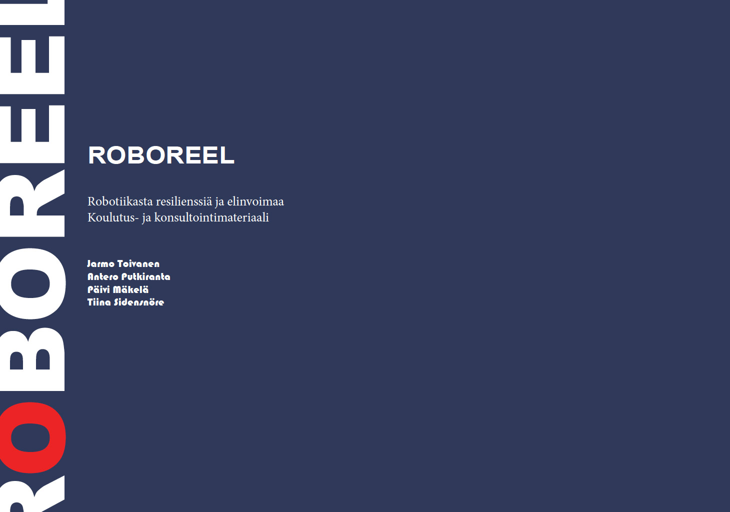 Cover for article 'ROBOREEL koulutus- ja konsultointimateriaali'