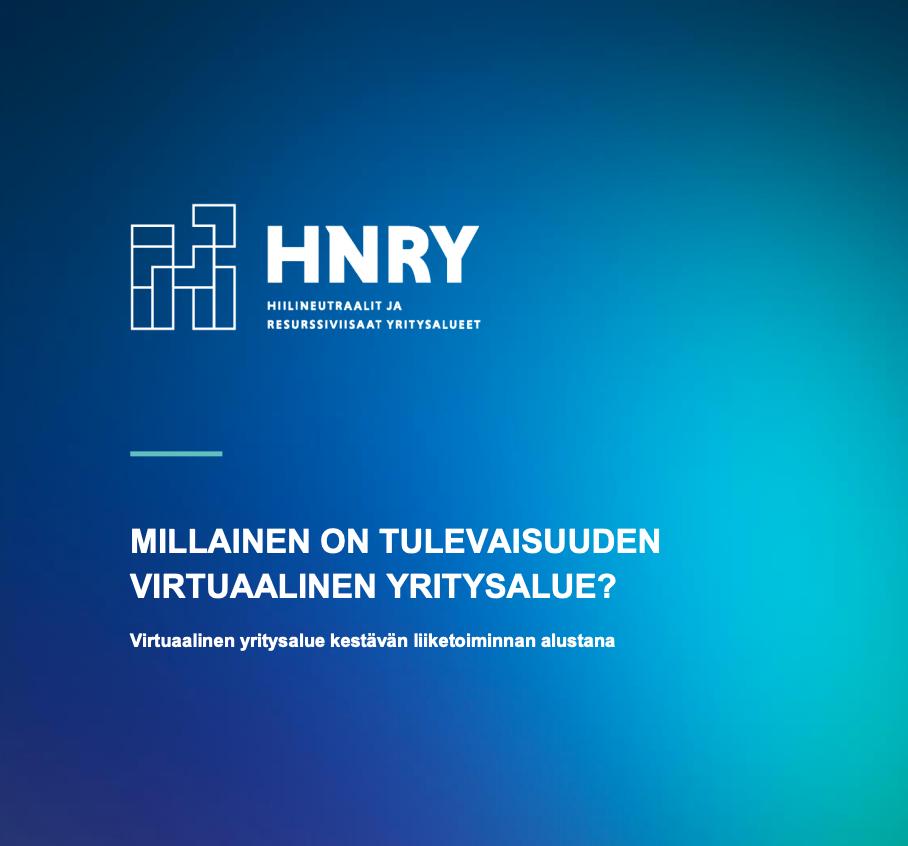 Cover for article 'Millainen on tulevaisuuden virtuaalinen yritysalue?'